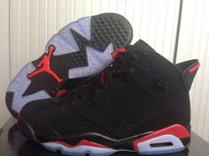 Nike Air Jordan AJ6 Retrocouples Shoes AJ6 Retro Jordan 6 Basketball Shoes Men And Women Shoes Black Red|only US$98.00 - follow me to pick up couopons.