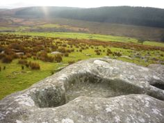 King Arthur's Bed on Bodmin Moor, Cornwall, UK.  Interesting shot by Bert Bruins Art & Sundry c/o facebook.