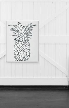 = White Pineapple = www.themarchcollective.com
