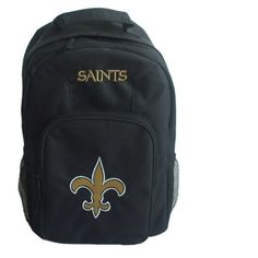 NFL New Orleans Saints Southpaw Backpack, Black, Medium by Concept 1. $18.39