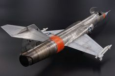 """F-104A Starfighter """"U.S.Navy - NAWS China Lake"""" - Ready for Inspection - Large Scale Planes"""