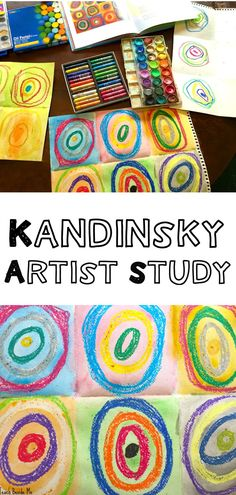 Learn about Kandinsky with this mixed medium art project!