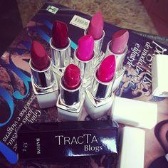 .@kittykills | Tons de diva nos batons das amigas blogueiras pra @tracta_makeup ! Tenho cor ... | Webstagram - the best Instagram viewer