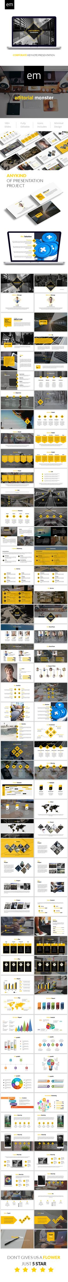 Corporate Keynote Presentation Template — Keynote KEY #advertisement #modern • Download ➝ https://graphicriver.net/item/corporate-keynote-presentation-template/18955816?ref=pxcr