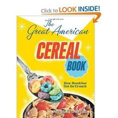 I remember reading lots of cereal boxes at breakfast!