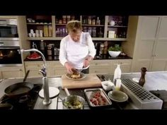 Gordon Ramsay's Crispy Salmon and Crab Potatoes with Vinaigrette