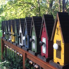 """Bird feeders - """"The Diner"""" soon to be added to the Etsy shop... #rebeccasbirdgardens #putabirdonit #etsy"""