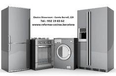 Instalación y reformas de cocinas en Barcelona. En Electro Showroom somos expertos en reformas de cocinas y baños en Barcelona. Instalamos cocinas modernas y cocinas de calidad a medida. Gran exposición de electrodomésticos de alta gama. Venta de electrodomésticos de primeras marcas. Reformas de cocinas y Electrodomésticos alta gama. Estamos en Comte Borrell, 229, Barcelona. Tel.: 934 52 47 98 http://www.reformas-cocinas.barcelona