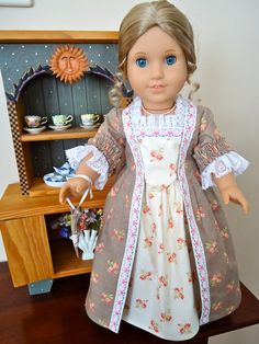 American Girl Doll Clothes Felicity Palace by BackInTimeCreations, $40.00