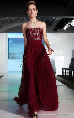 Classic Bridesmaid Dress in Ruby - The Bridesmaids - Pinterest