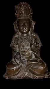 A bronze seated Figure of Buddha Shakyamuni Thailand, Sukothai style, 14th/15th Century - See more at: http://www.asiakingart.com/?p=902#more-902