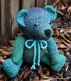 Teddy Bear by laughingpurplegoldfish, via Flickr