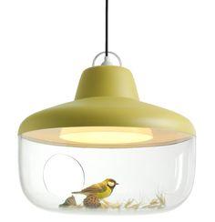 ChenKarlsson vitrinelampe (not a real bird)