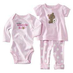Pijama e Body para meninas recém - nascidas