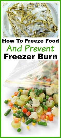 Directions on How to Freeze Food and Prevent Freezer Burn- If you let food get freezer burned, you're wasting money. Reduce your food waste and save money by learning how to freeze food and prevent freezer burn! | money saving tips and tricks, freezer burned food, effectively use your freezer, frugal living, frugality, reduce food waste, stretch your grocery budget