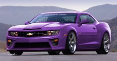 Not only do I want the car but I want THAT purple in a nail polish!!!
