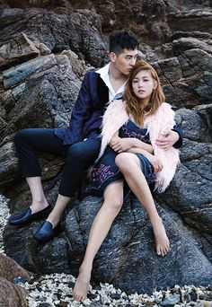 Lee Ho Jung and Jo Min Ho - Sure Magazine May Issue '15