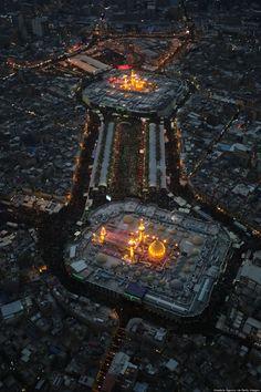 IRAQ - 13 DÉCEMBRE: Vue aérienne