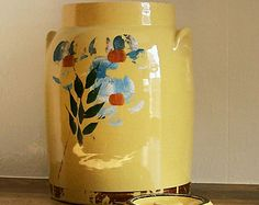 McCoy Pottery Pair of Vases Grapevine by AletaFordBakerDesign