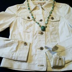 MUDD white denim jacket  Mudd Jackets & Coats Jean Jackets