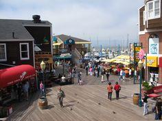 Pier 39 , Fisherman's Warf, San Francisco, CA San Francisco City, San Francisco Travel, San Francisco California, Pacific Coast Highway, Pacific West, Big Sur, Newport Beach, Santa Monica, Places To Travel
