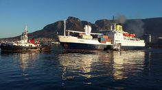 https://flic.kr/p/KpADtw | RMS St Helena departing Cape Town Harbour | Cape Town…