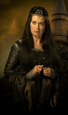 Professor Rowena Ravenclaw (fl. c. 993-1000) was a Scottish witch, who lived in the early Middle Ages. Noted for her intelligence and creativity and regarded as one of the greatest witches of the age, Ravenclaw was one of the four founders of Hogwarts School of Witchcraft and Wizardry along with Godric Gryffindor, Helga Hufflepuff and Salazar Slytherin, as well as the namesake of the Ravenclaw House.