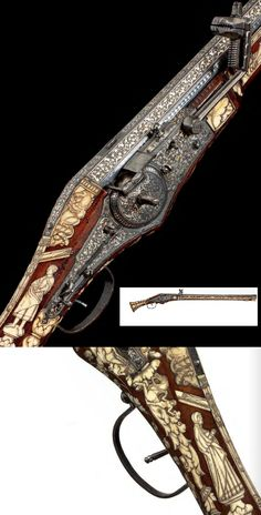 A fine, important and extremely long north German wheellock pistol, Brunswick, circa 1555. (PF #7 2010)