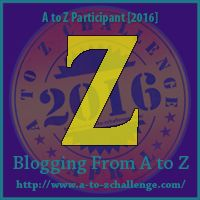 Blogging from A to Z April Challenge: Zip, Zap, Zoom!  #atozchallenge