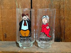 Swee'Pea and Wimpy by MammothMisc on Etsy