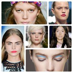 Trendy w makijażu na wiosnę 2013, fot. Imaxtree