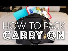 The Ultimate Carry-On Packing Guide • The Blonde Abroad