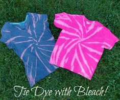 Reverse Tie Dyeing with Bleach | FiberArtsy.com