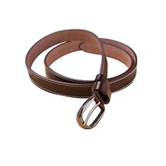 Allywit Fashion Women's Vintage Accessories Casual Thin Leisure Leather Belt