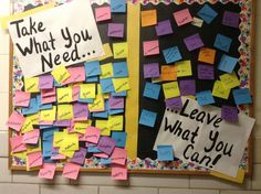College Bulletin Boards, Interactive Bulletin Boards, Ra Events, Ra Bulletins, Ra Boards, Staff Morale, Take What You Need, Residence Life, Resident Assistant