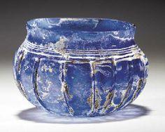 roman blue glass