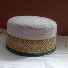 geometric design bohra white golden topi Dawoodi Bohra, Galaxy Wallpaper, Geometric Designs, Outdoor Furniture, Outdoor Decor, Book Design, Ottoman, Cross Stitch, My Favorite Things