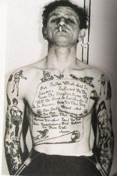 Ideas Tattoo Old School Sea Pictures Tattoo Old School, Vintage Tattoos, Pin Up Tattoos, Tatoos, Boxing Tattoos, Jail Tattoos, Boxer Tattoo, Antique Tattoo, Criminal Tattoo