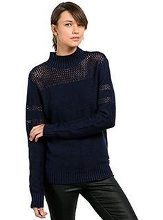 3b915d3ac90 Volcom Junior s Womens  Peepin On Mock Neck Sweater