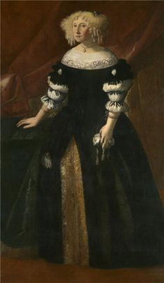 Portrait of a Lady by Justus Sustermans (1597-1681)