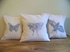 Hey, I found this really awesome Etsy listing at http://www.etsy.com/listing/92436536/set-of-three-butterfly-pillow-covers