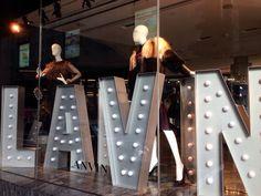LK By Lincoln Keung: LANVIN Window Display - The LANDMARK