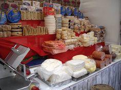 Dulces quesos artesanales