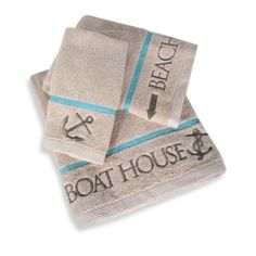 Boathouse Collection Bath Towels - BedBathandBeyond.com