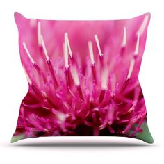 Kess InHouse Beth Engel Frosted Tips Outdoor Throw Pillow - BE1023AOP0