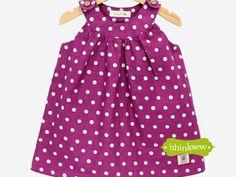 I think sew: Product Information 271 Camilla Dress (3 - 7 Years) PDF Pattern