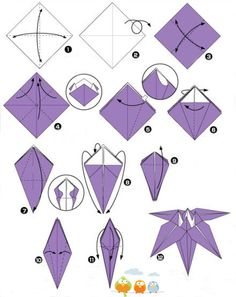 How to make the easy origami kusudama flower step by step origami paper instructions easy origami for kids origami animals easy origami flower easy origami instructions origami flower mightylinksfo