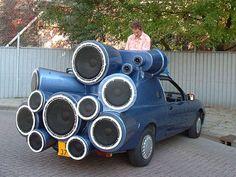 DJ Car, nice!