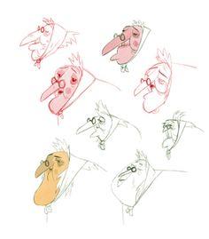 hadi characters & sketches