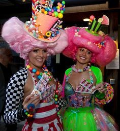 Candy ladies at Vancouver Kids Fest 2011